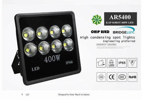Lampu Sorot LED 400 Watt AR5400