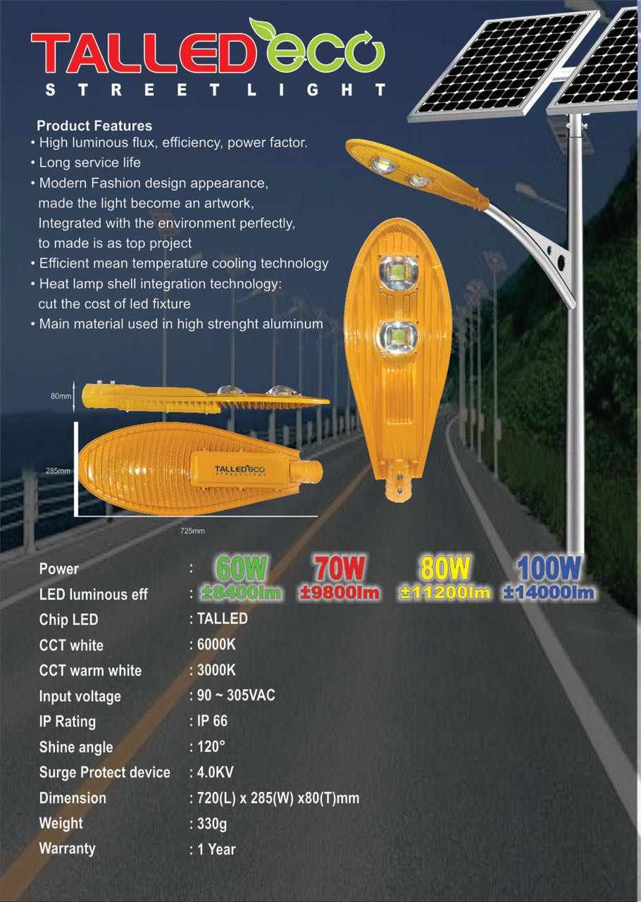 Lampu Jalan LED Talled ECO